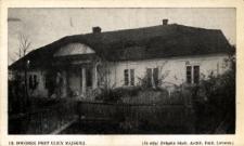 Brzeżany. Dworek przy ulicy Rajskiej z 1805 roku.