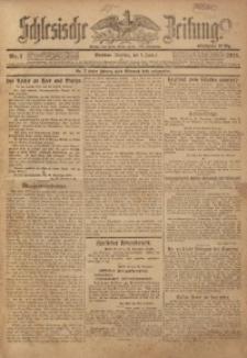 Schlesische Zeitung, 1918, Nr. 1