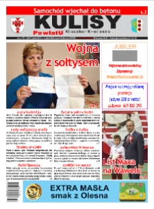 Kulisy Powiatu Kluczbork - Olesno 2018, nr 47 (777).
