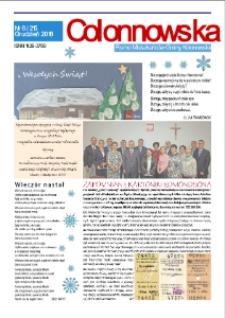 Colonnowska : pismo mieszkańców Gminy Kolonowskie 2018, nr 8 (215).