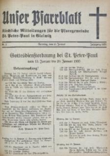 Unser Pfarrblatt, Jg. 1935, Nr. 2