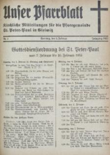 Unser Pfarrblatt, Jg. 1935, Nr. 5