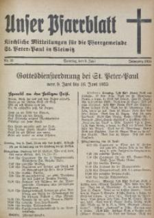 Unser Pfarrblatt, Jg. 1935, Nr. 23