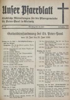 Unser Pfarrblatt, Jg. 1935, Nr. 24