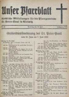 Unser Pfarrblatt, Jg. 1935, Nr. 26