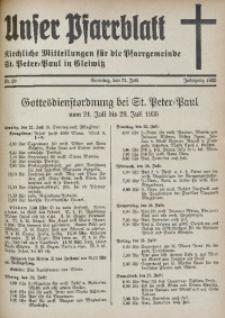 Unser Pfarrblatt, Jg. 1935, Nr. 29