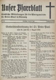 Unser Pfarrblatt, Jg. 1935, Nr. 30