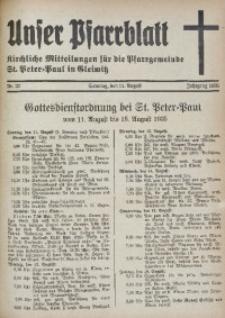 Unser Pfarrblatt, Jg. 1935, Nr. 32