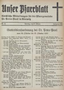 Unser Pfarrblatt, Jg. 1935, Nr. 42