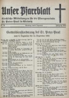 Unser Pfarrblatt, Jg. 1935, Nr. 49