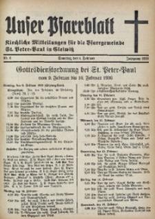 Unser Pfarrblatt, Jg. 1936, Nr. 6