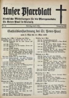 Unser Pfarrblatt, Jg. 1936, Nr. 18