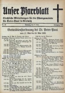 Unser Pfarrblatt, Jg. 1936, Nr. 20