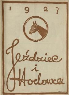 Jeździec i Hodowca, R. 6 (1927), Nry 3/4-15/16
