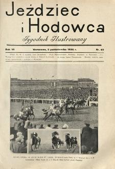 Jeździec i Hodowca, R. 7 (1928), Nry 40-52