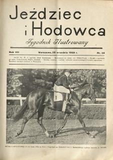 Jeździec i Hodowca, R. 8 (1929), Nry 39-51