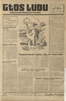 Głos Ludu, R. 4 (1948), Nry 1-75