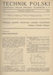 Technik Polski, 1935, R. 2, nr 12