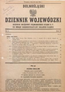Dolnośląski Dziennik Wojewódzki, 1946, R. 2, nr 4