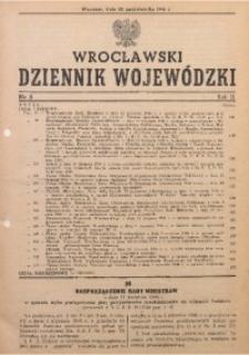 Wrocławski Dziennik Wojewódzki, 1946, R. 2, nr 8