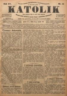Katolik, 1914, R. 47, nr 11