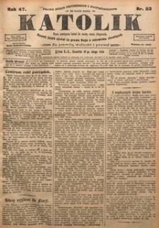 Katolik, 1914, R. 47, nr 22