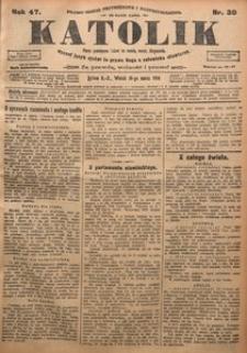 Katolik, 1914, R. 47, nr 30
