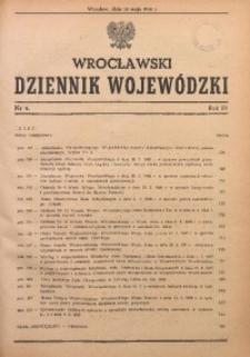 Wrocławski Dziennik Wojewódzki, 1948, R. 4, nr 4