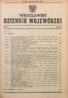 Wrocławski Dziennik Wojewódzki, 1948, R. 4, nr 5