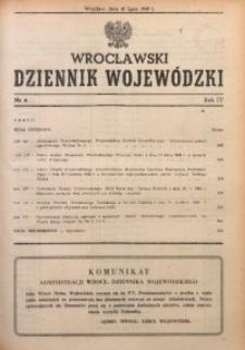 Wrocławski Dziennik Wojewódzki, 1948, R. 4, nr 6