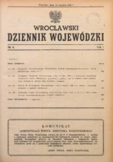 Wrocławski Dziennik Wojewódzki, 1948, R. 4, nr 8
