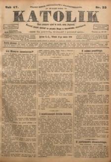 Katolik, 1914, R. 47, nr 33