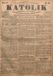 Katolik, 1914, R. 47, nr 35