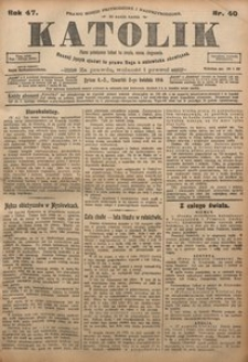 Katolik, 1914, R. 47, nr 40