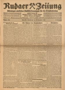 Rudaer Zeitung, 1920, Jg. 9, Nr. 284