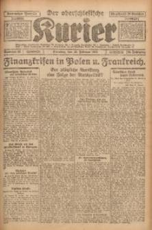Der Oberschlesische Kurier, 1926, Jg. 20, Nr. 43