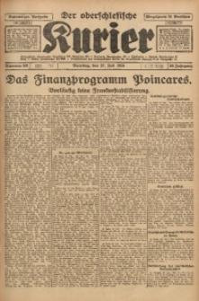 Der Oberschlesische Kurier, 1926, Jg. 20, Nr. 168