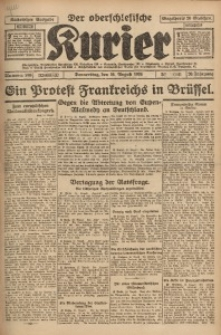 Der Oberschlesische Kurier, 1926, Jg. 20, Nr. 188