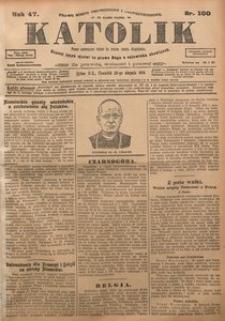 Katolik, 1914, R. 47, nr 100