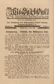 Die Kinderwelt, 1939, Jg. 13, Nr. 12