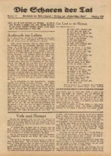 Die Scharen der Tat, 1939, Nr. 27