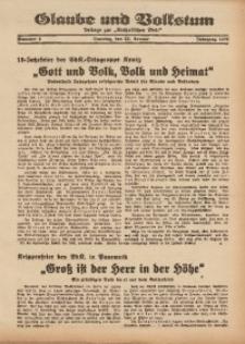 Glaube und Volkstum, 1939, Nr. 4