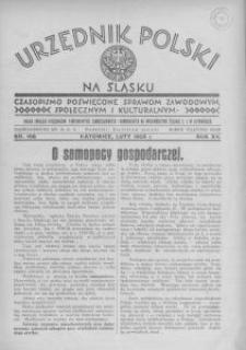 Urzędnik Polski na Śląsku, 1935, R. 11, nr 198