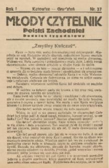 Młody Czytelnik Polski Zachodniej, 1927, R. 1, nr 37