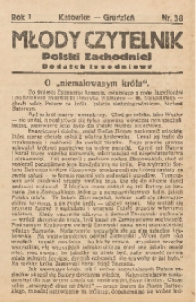 Młody Czytelnik Polski Zachodniej, 1927, R. 1, nr 38