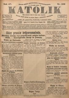 Katolik, 1914, R. 47, nr 136