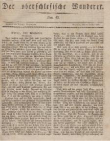 Der Oberschlesische Wanderer, 1833, Jg. 6, Nro. 43