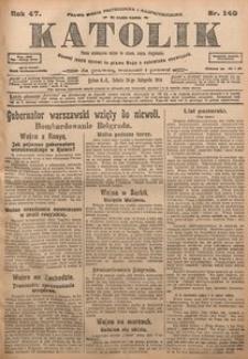Katolik, 1914, R. 47, nr 140