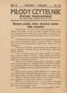Młody Czytelnik Polski Zachodniej, 1928, R. 2, nr 35