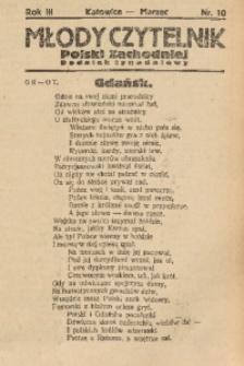 Młody Czytelnik Polski Zachodniej, 1929, R. 3, nr 10